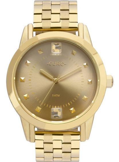 Relógio Euro Feminino Spike Illusion Original Eu2035yrt/4d