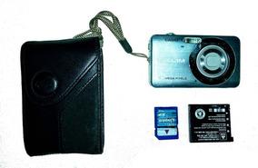 Câmera Digital Casio Exilim Ex Z80 C/ 8.1 Mp Funcionando