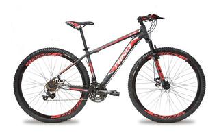 Bicicleta Rino Aro 29 Disco 21v Suspensao + Led
