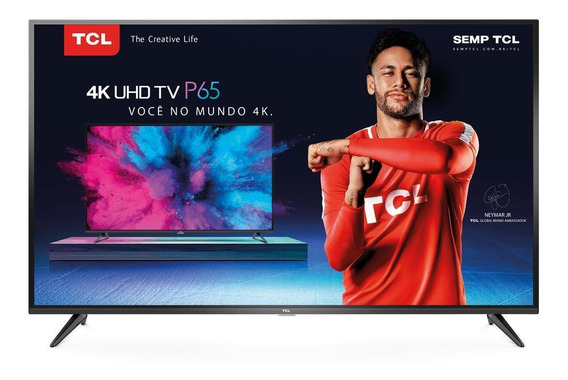 Smart Tv Led 65 Tcl, 4k, Usb, Hdmi, Wi-fi - 65p65us