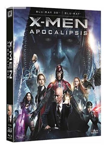 X-men Apocalipsis Blu-ray 3d [blu-ray]