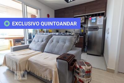 Apartamento No 14º Andar Mobiliado Com 1 Dormitório E 1 Garagem - Id: 892910109 - 210109