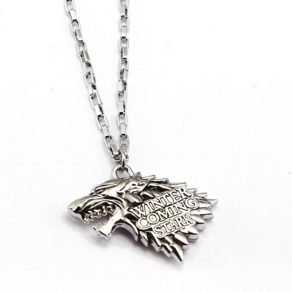 Colar Canção De Gelo E Fogo Game Of Thrones Stark Targaryen