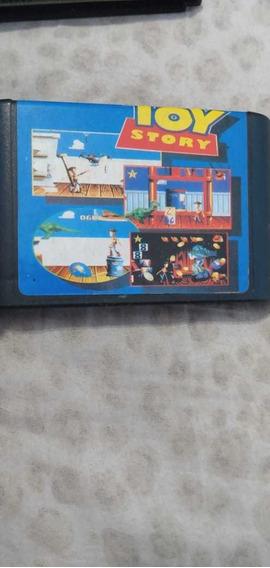 Toy Story Para Mega Drive Na Caixa (cartucho Alternativo).