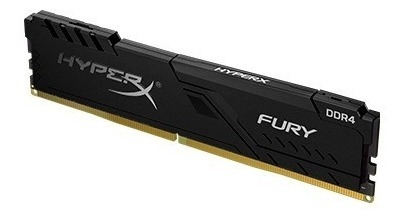 Memória Hyperx Fury, 4gb, 2400mhz, Ddr4, Cl15, Preto - Hx424