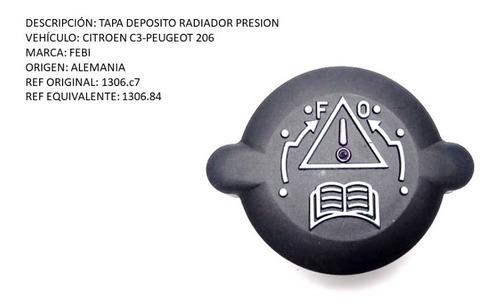 Tapa Deposito Radiador Citroen C4 -peugeot 206 Presion
