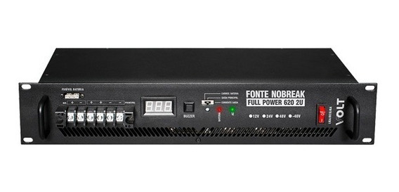 Fonte Nobreak -48v/10a Full Power 620w 2u