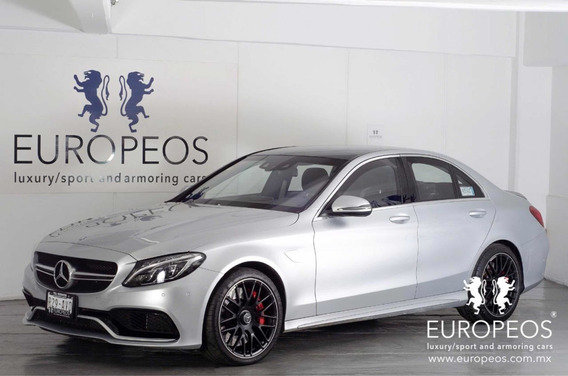 Mercedes-benz Clase C 63 S Amg Coupe 2017 Blindado Nivel 3