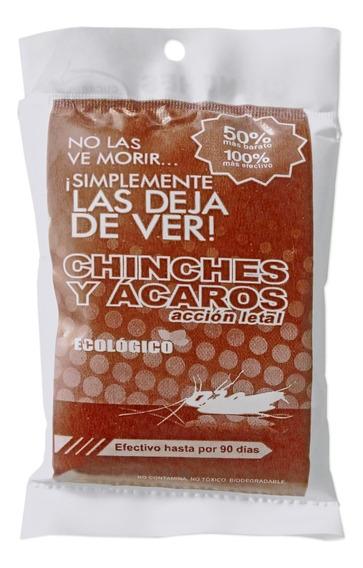 Repelente Control De Chinches Y Ácaros 90gr Bolsa Café