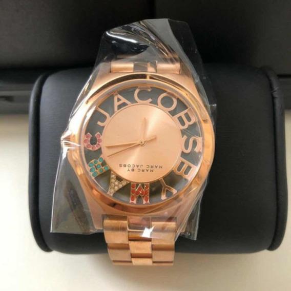 Relógio Feminino Marc Jacobs Original C Pqna/ Oxidação