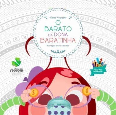 O Barato Da Dona Baratinha Paula Andrade