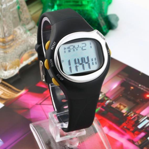 Relógio Monitor Cardíaco Contador De Calorias Esportivo