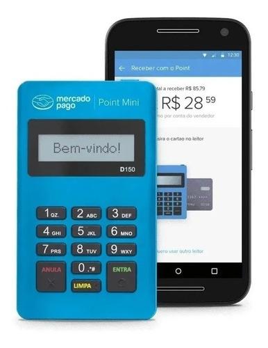Imagem 1 de 2 de Máquina De Cartão Débito E Crédito Point Mini Mercad Pago!!