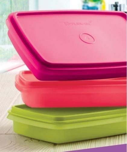 Box Tupperware 750 Ml Ideal Para Viandas Varios Colores