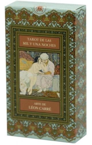 Tarot De Las Mil Y Una Noches ( Libro + Cartas )