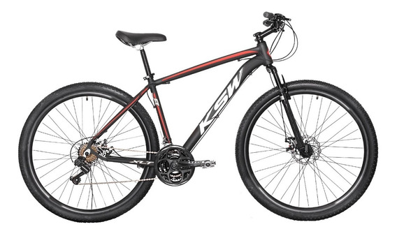 Bicicleta Ksw Aro29 21 Marchas Freio À Disco Frete Grátis*