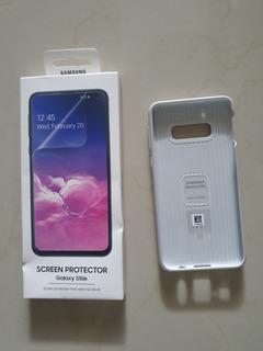 Capa Protective Standing S10e + Película Original Samsung
