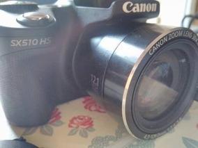 Câmera Canon Powershot Sx510 Hs Semi-nova