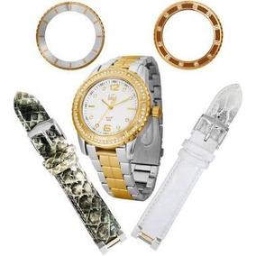 Relógio Dumont Sk75039/b Caixa Lacrada