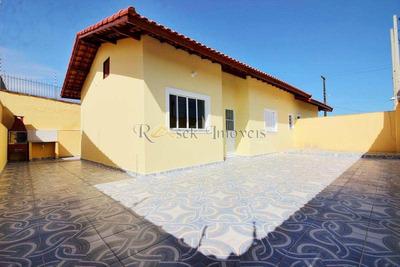 Casa Com 2 Dorms, Jardim Magalhães, Itanhaém - R$ 219.900,00, 65m² - Codigo: 154 - V154