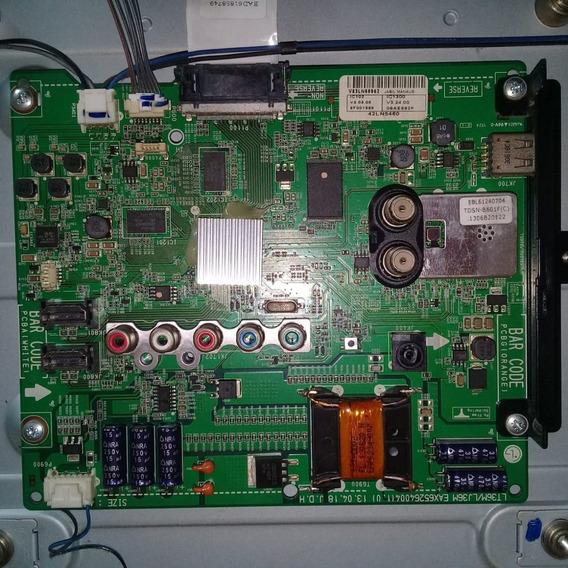 Placa Principal Tv Led Lg 42ln5460 - Ret. Tv Com Tela Quebrada.