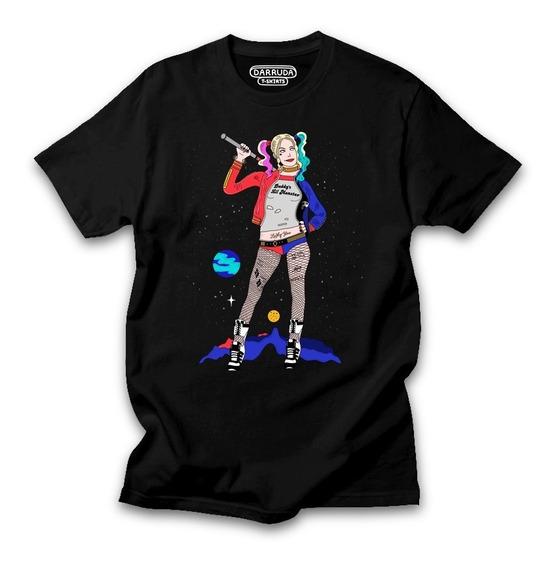 Camisa Arlequina Aves De Rapina Camiseta Filmes Dc Comics