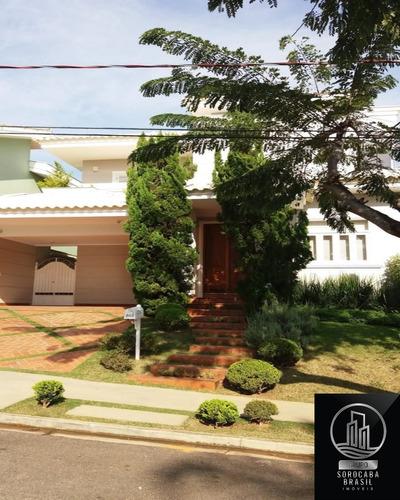 Sobrado Com 3 Dormitórios À Venda, 316 M² Por R$ 1.250.000 - Condomínio Tivoli Park - Sorocaba/sp, Próximo Ao Shopping Iguatemi. - Ca00087 - 67869974