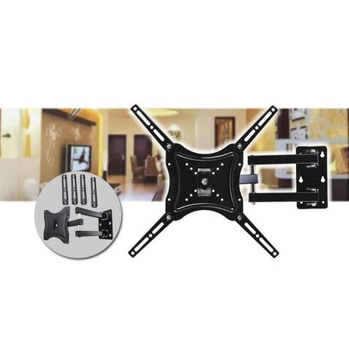Soporte Para Tv De 14 A 49 50kg Metálico Negro Accesorios