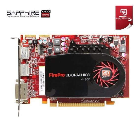Tarjeta De Video Ati Fire Pro V4800 1gb Ddr5 Wl049aa Nueva