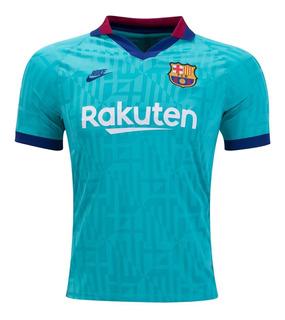 Camisa Nike Barcelona Oficial 2019 3rd Pronta Entrega