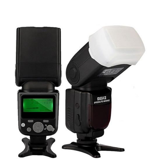 Flash Meike Mk 930ii Para Qualquer Canon E Nikon Universal