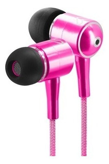 Auriculares Energy Sistem In Ear Cable Mallado Rosa