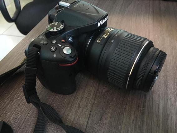 Camera Digital Nikon D5200 - Com Lente Af-s 50mm/1.8g