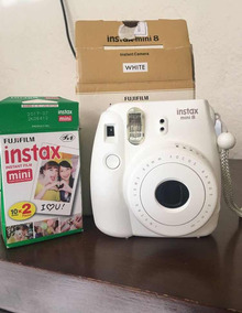 Câmera Instax Mini Branca
