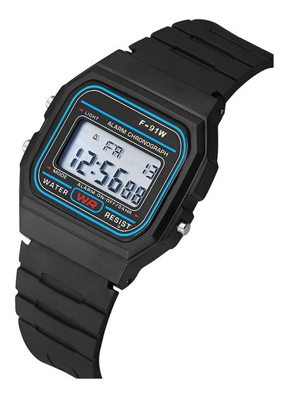 Reloj A168 Digital Tipo Casio Luxury