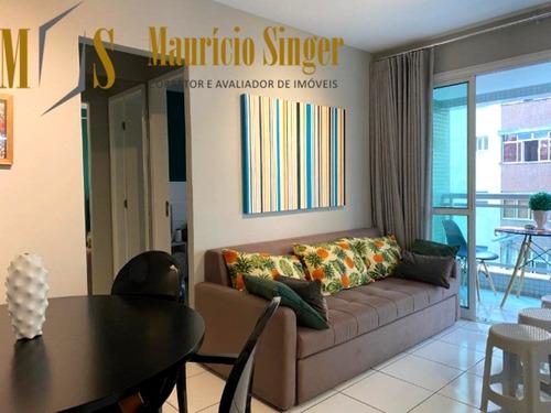Apartamento Quarto E Sala Para Venda Na Barra, Salvador-bahia - Ap00343 - 68713029