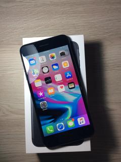 iPhone 7 Plus 128bg Preto Matte Apple Zerado Completo