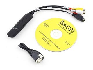 Easycap Usb 2.0 Audio Video Adaptador De Tarjeta De Captura
