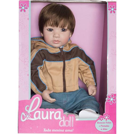 Boneco Realista Laura Doll Explorer Boy 1415 Shiny Toys