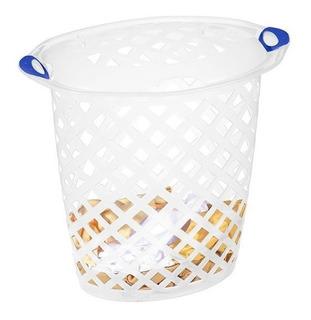 Canasto Para Ropa Plastico Con Tapa 46,5 L San Remo