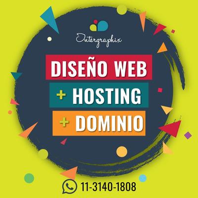Páginas Web Autoadministrables. Diseño Web Hosting Y Dominio