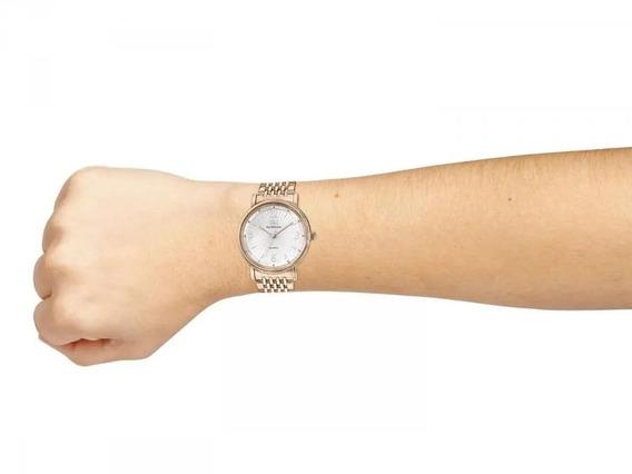 Relógio Feminino Ana Hickmann Analógico Ah28893z Rosê