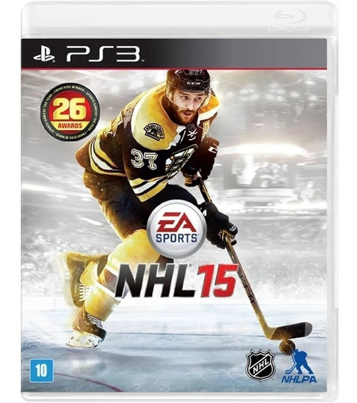 Nhl 15 / 2015 - Hockey No Gelo - Midia Fisica Lacrado - Ps3