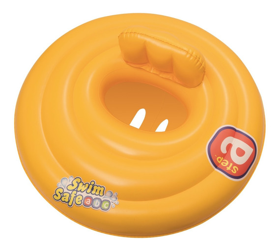 Inflable Asiento Bebe Doble Anillo Bestway - Rex
