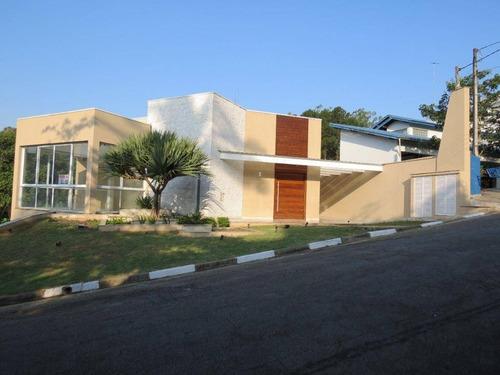 Linda Casa De Alto Padrão Nova À Venda, Condomínio Arujazinho I - Ca0614. - Ca0614