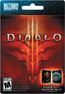 Diablo 3 Battle Chest + Reaper Of Souls Para Pc
