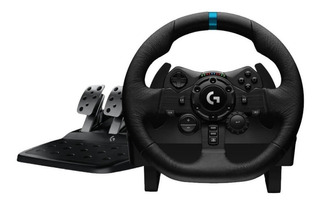 Volante Logitech G923 Gamer + Pedalera Racing Ps4 Pc Cuotas