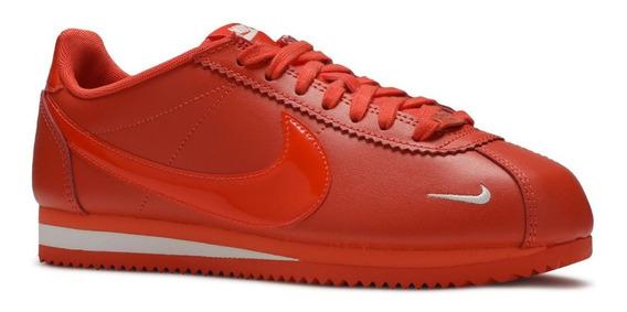 Tenis Nike Classic Cortez Prem Naranja