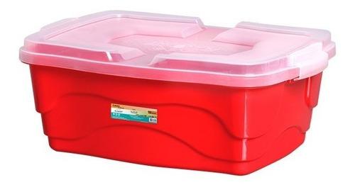 Caja Organizador Tupper  10lts  15x40x29cm