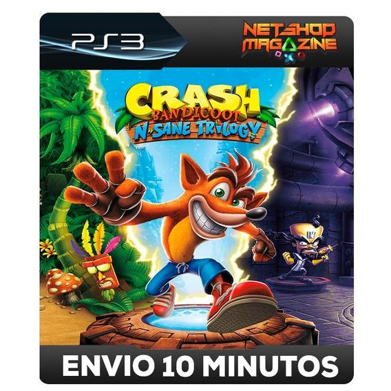 Crash Bandicoot N. Sane Trilogy - Psn Ps3 - Envio Imediato